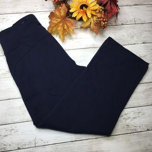 ATHLETA Crop Wide Leg yoga pants sz MP or Medium